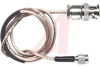 Cable Assy; 24 in.; 26 AWG; RG316/U; Non Booted; Tinted Brown -- 70198090 - Image