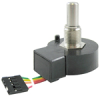 600 Series optical encoder, 128 pulse per revolution, 2-square wave, 190,5 mm [7.5 in] cable/connector, mounting hardware included -- 600-128-CN1