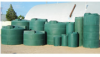 750 Gallon Vertical Water Storage Tank -- CRMI-750VTSFWG