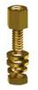Jack Screw Yel w/Hdwr .375