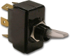 Carling LT-1561-111-012 Clear Nylon Lighted Toggle Switch, 15A, SPDT, On-Off-On -- 44207 - Image