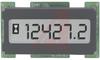 Hour Meter, LCD, black, 1.2W x .6H, 8-28 VDC, DC, 6 digit -- 70000909