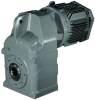 Shaft Mounted Geared Motors -- Series F Shaft Mounted geared motors