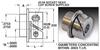 Fairloc® Precision Dial Hubs (inch) -- S2F06Y-125250 -Image