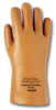 Ansell 13-152 Brown/Orange 10 PVC Unsupported Chemical-Resistant Gloves - Smooth Finish - 12 in Length - 076490-13962 -- 076490-13962 - Image