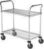 "Cart, 18""x36"" 2 Shelf Wire Cart -- AWCART18362 - Image"