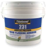 Flooring Adhesive,Gallon,Tan/Off White -- 1FCE6
