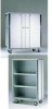 G.S.M. 33 Bushel Enclosed Cart with Bifold Doors -- GSM-G7605
