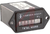 Meter, Hour; 6 Digit, 99999.9 hr; 120 VAC; 60 Hz; Screw; Panel; 0.15 in.; 1 -- 70132729