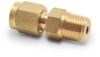 Brass Compression Fitting for 1/8 inch diameter temperature probes -- BCF18-125N - Image