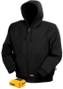 20V/12V MAX* Lithium Ion Black Hooded Heated Jacket -- DCHJ061B - Image