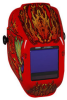 Jackson Safety TrueSight II Halo X Flaming Butterfly Welding Helmet - Auto-Darkening Lens - 4 in Viewing Width - 3.25 in Viewing Height - 036000-46119 -- 036000-46119 -- View Larger Image