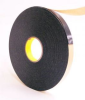 3M 4496 Black Foam Mounting Tape - 1 in Width x 36 yd Length - 1/16 in Thick - 30423 -- 021200-30423 -- View Larger Image