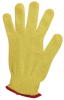 Ansell Goldknit 70-217 Yellow 7 Cotton/Kevlar Cut-Resistant Glove - ANSI 3 Cut Resistance - Uncoated - 076490-42336 -- 076490-42336