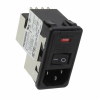 Power Entry Connectors - Inlets, Outlets, Modules -- 1-6609106-5-ND - Image