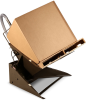 Floor-level Bulk Container Tilters -- View Larger Image