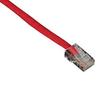 GigaBase 350 CAT5e Patch Cables, Basic Connectors, Red, 4-ft. (1.2-m) -- EVNSL53-0004