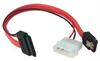 Slimline SATA Cable Assembly, w/Power +Data Connectors, 8