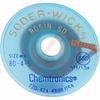 Chemical, Desoldering Braid,Rosin, Esd Safe, 5 Foot Bobbin, .110 Inch/2.8mm Blue -- 70206166