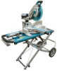MAKITA 12 In. Laser Dual Slide Compound Miter Saw with Stand -- Model# LS1216LX