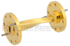 WR-22 90 Degree Waveguide Twist Using a UG-383/U Flange And a 33 GHz to 50 GHz Frequency Range -- SMW22TW1001 - Image