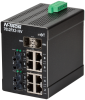 7012FX2 HV Managed Industrial Ethernet Switch, ST 80km -- 7012FXE2-ST-80-HV -Image