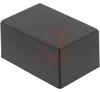 Enclosure,Plastic,ABS,Flame Retardant,Textured,Black,3Lx2Wx1.5H -- 70196678