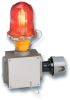 Red Aviation Obstruction Light -- Model 810SE-120R