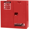 Hazardous Liquid Safety Storage Self-Close Cabinet -- CAB25452-RED