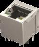 PC board Single jack RJ45 LED, Shielded -- AJT39l8813-031