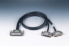 SCSI-100 to 2*SCSI-68 Ribbon-Type Cable, 1m -- PCL-10268