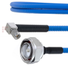 Low PIM 7/16 DIN Male to RA SMA Male Plenum Cable SPP-250-LLPL Coax in 24 Inch and RoHS with LF Solder -- FMCA1821-24 -Image