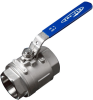 2-PC High Pressure Industrial Ball Valve -- Series 20/40 -- View Larger Image