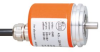 Absolute multiturn encoder with solid shaft -- RM8001 -- View Larger Image