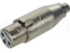 TecNec XLF-PF XLR Female To RCA Female Adapter -- XLF-PF