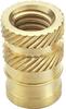 Heat-Ultrasonic Inserts for Plastic (Short) -- Series 19