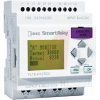 Controller, 8 Digital In, 4 Relay Out, 24V AC/DC, LCD Disp, EEPROM, SmartRelay -- 70173346