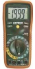 Multimeter; 0.1 mV to 600 V Voltage, Range, DC; RS-232; 2000 Counts Backlit -- 70117336