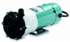 Centrifugal Magnetic Drive Pump with Enclosed Motor, Fluoroplastic, 3.2 GPM, 230 VAC -- EW-72011-05