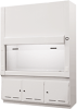 6ft Polypropylene Exhausted Laminar Flow Fume Hood -- ID-CB-72-LFH