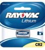 Photo Lithium Carded CR2 1-Pack, 3.0 Volt (6 packs/case) -- RLCR2-1