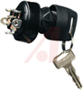 Switch, Key, 2 Position, Screw Terminals, Off-On -- 70111552 - Image