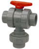 CPVC Schedule 80 Plastic Valves -- Chemtrol® - Image