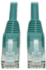 Cat6 Gigabit Snagless Molded Patch Cable (RJ45 M/M) - Green, 6-ft. -- N201-006-GN