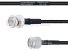 BNC Male to TNC Male MIL-DTL-17 Cable M17/28-RG58 Coax in 200 cm -- FMHR0118-200CM -Image