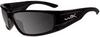 Wiley X Zak Sunglasses with Polarized Smoke Lens and Gloss -- WX-ACZAK04