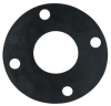 PVC Schedule 80 Socket & Blind Flanges & Gaskets -- 28040 -- View Larger Image