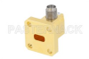 WR-28 UG-599/U Square Cover Flange to 2.92mm Female Waveguide to Coax Adapter Operating from 26.5 GHz to 40 GHz -- PE-W28CA001 - Image