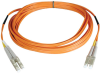 Duplex Multimode 50/125 Fiber Patch Cable (LC/LC), 100M (328-ft.) -- N520-100M