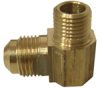 Brass Flare to Male Pipe Elbow -- No. 49